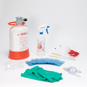 Cleaning set, A-system